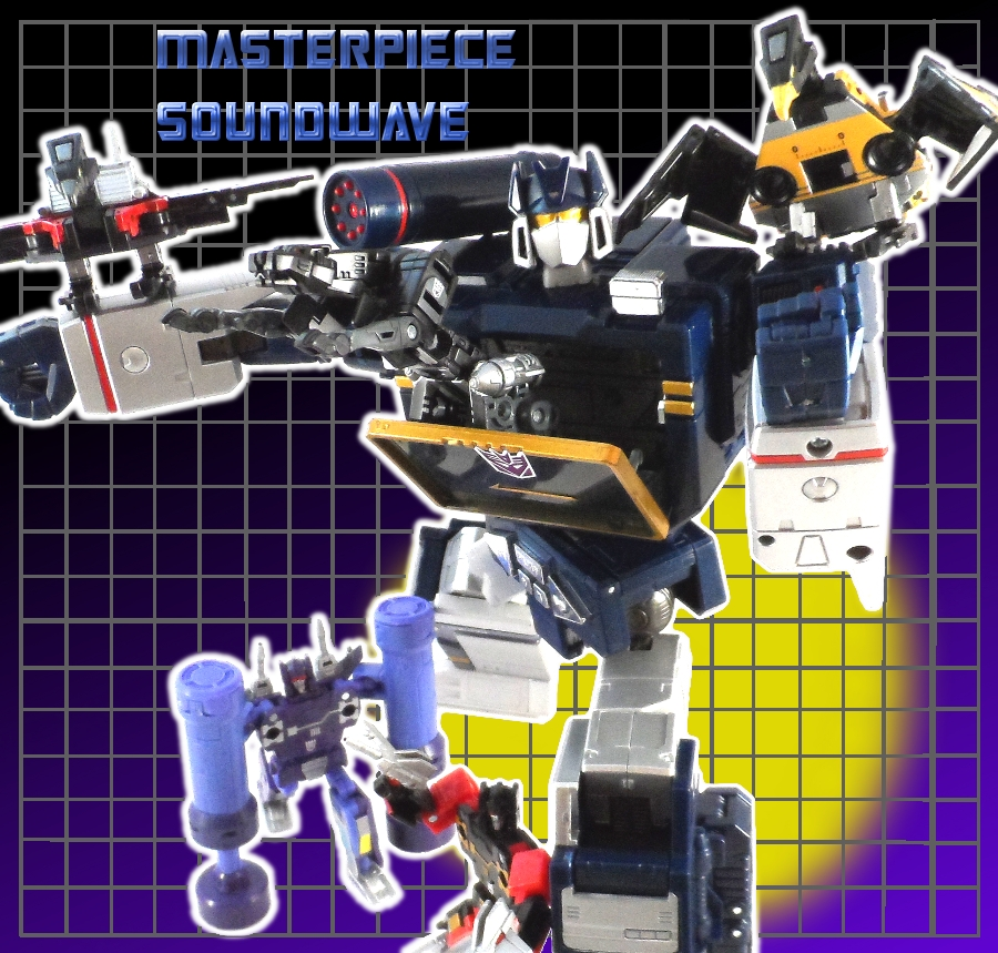 Toys R Us Masterpiece Soundwave Review