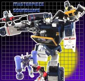 Masterpiece Soundwave Cover