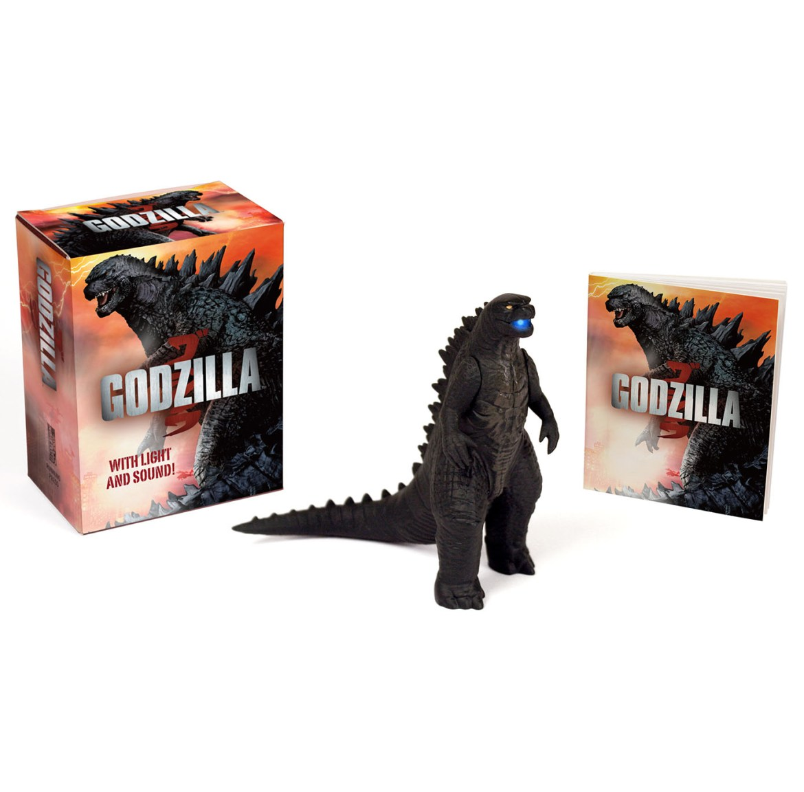 First Godzilla 2014 Figure Revealed! With Lights & Sounds!