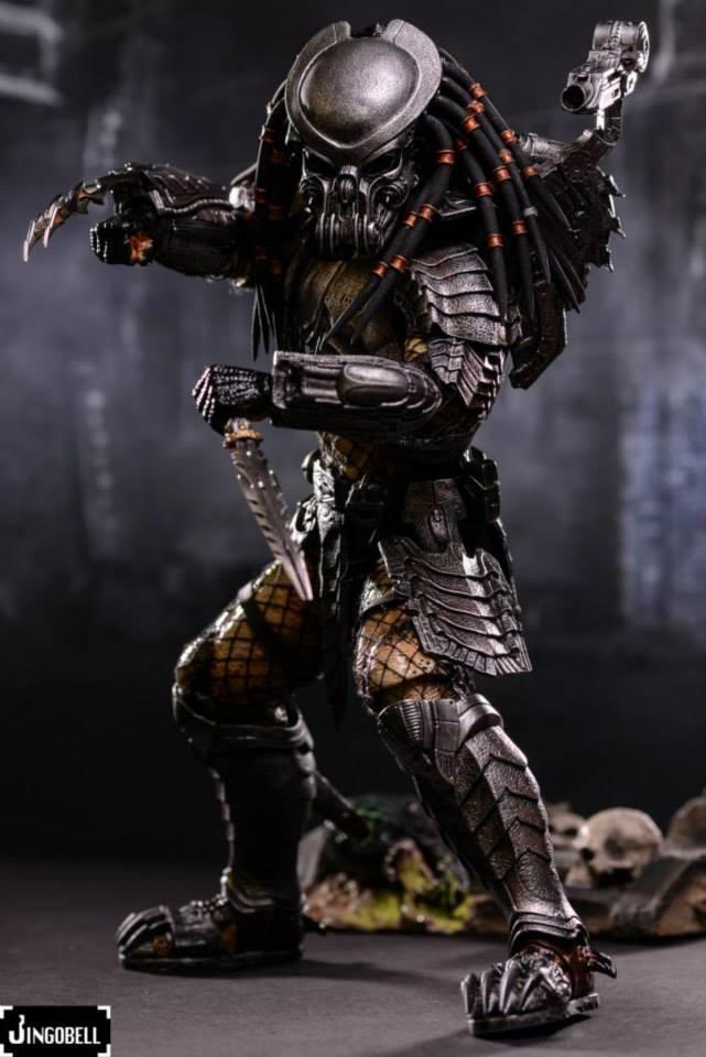 Celtic Predator 1 ... & Hot Toys AVP: Celtic Predator Figure Final Product Images - Needless ...