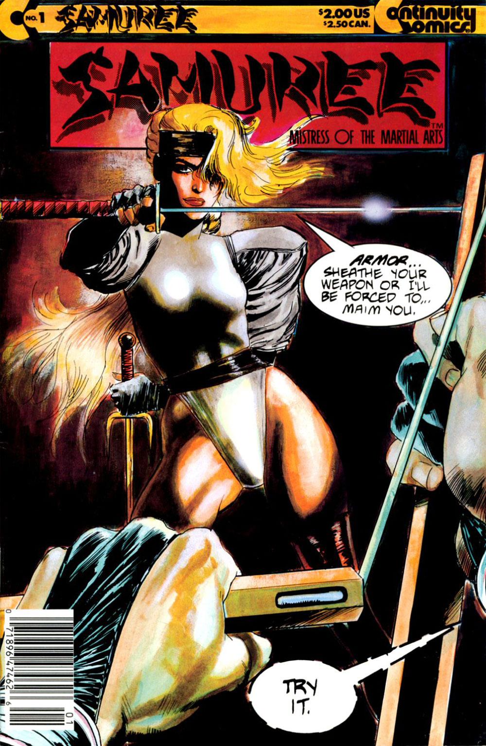 Reviews of Old Comics: Samuree #1