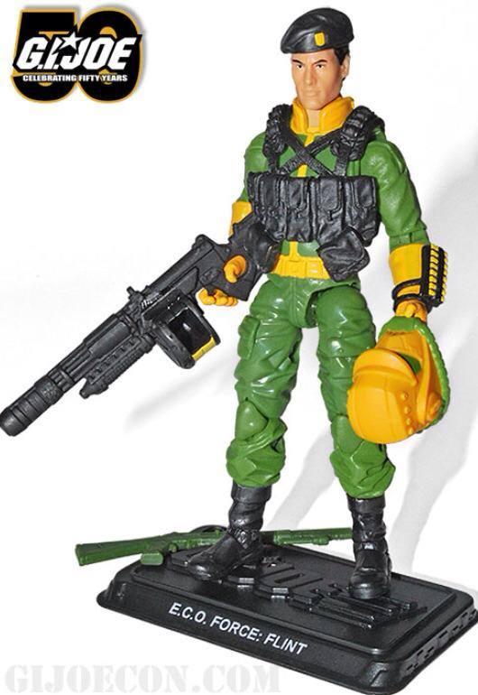 G.I. Joe Collectors Club Revealed 2014 Convention ECO Force Flint!