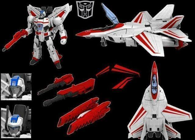 Rumored G1 Style 30th Anniversary Jetfire
