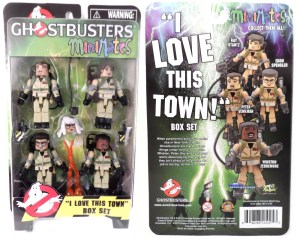 Ghostbusters Minimates Love This Town 001