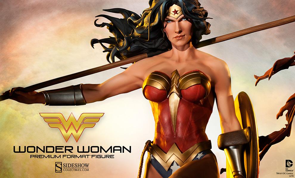 7b9ff25e775 Wonder Woman Premium Format Figure Preview - Needless Essentials Online