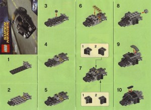 Lego The Batman Tumbler 03 Instructions