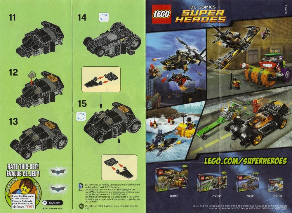 The Batman Tumbler Lego Set - Needless Essentials Online
