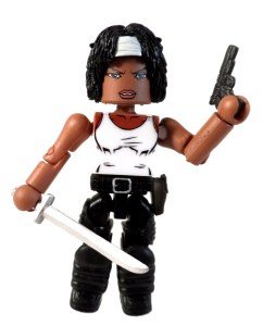 TRU WD 5 Michonne Hitchhiker 06 Weapons