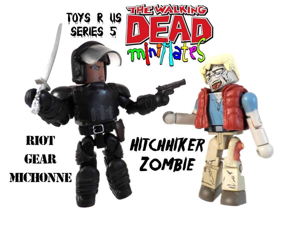 Walking Dead Minimates Michonne & Hitchhiker