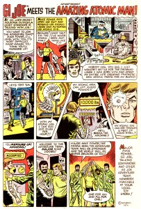 1975 Atomic Man Comic Ad