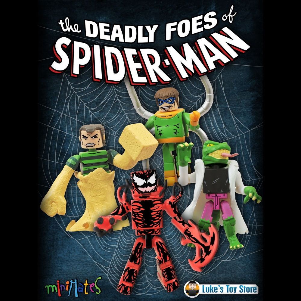 Deadly Foes of Spider-Man Minimates Pre Order