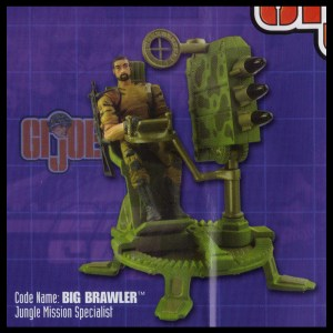 GI Joe 50th 15 Big Brawler