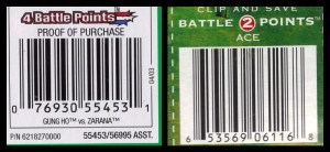 GI Joe 50th 16 Battle Points
