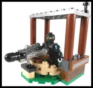 GI Joe Kreo Outpost Defense 10 Outpost