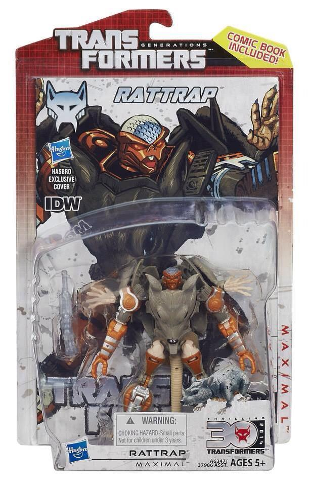 Transformers Generations Rattrap and Tankor