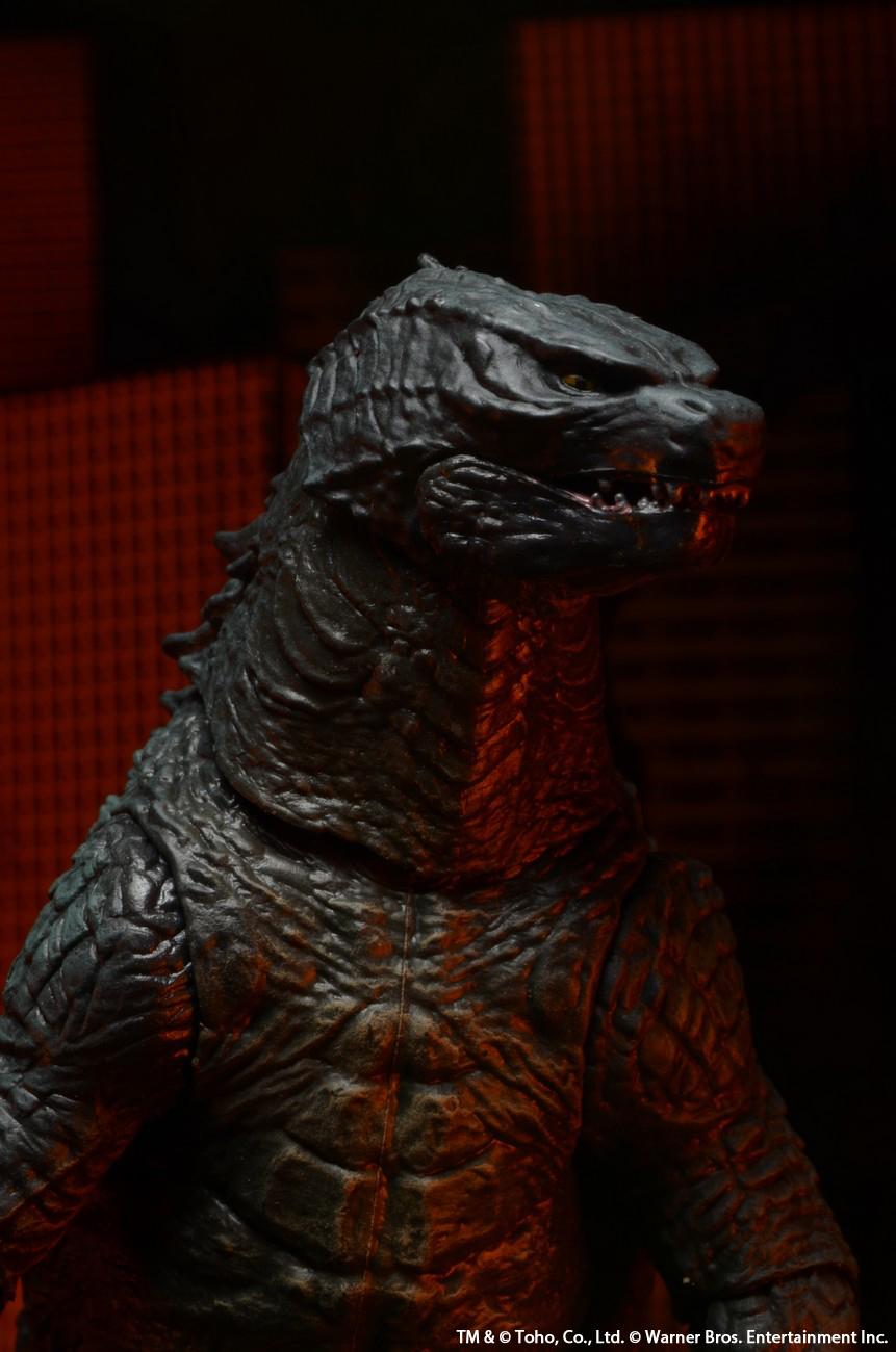Closer Look at NECA's Modern 12″ Head to Tail Godzilla Figure