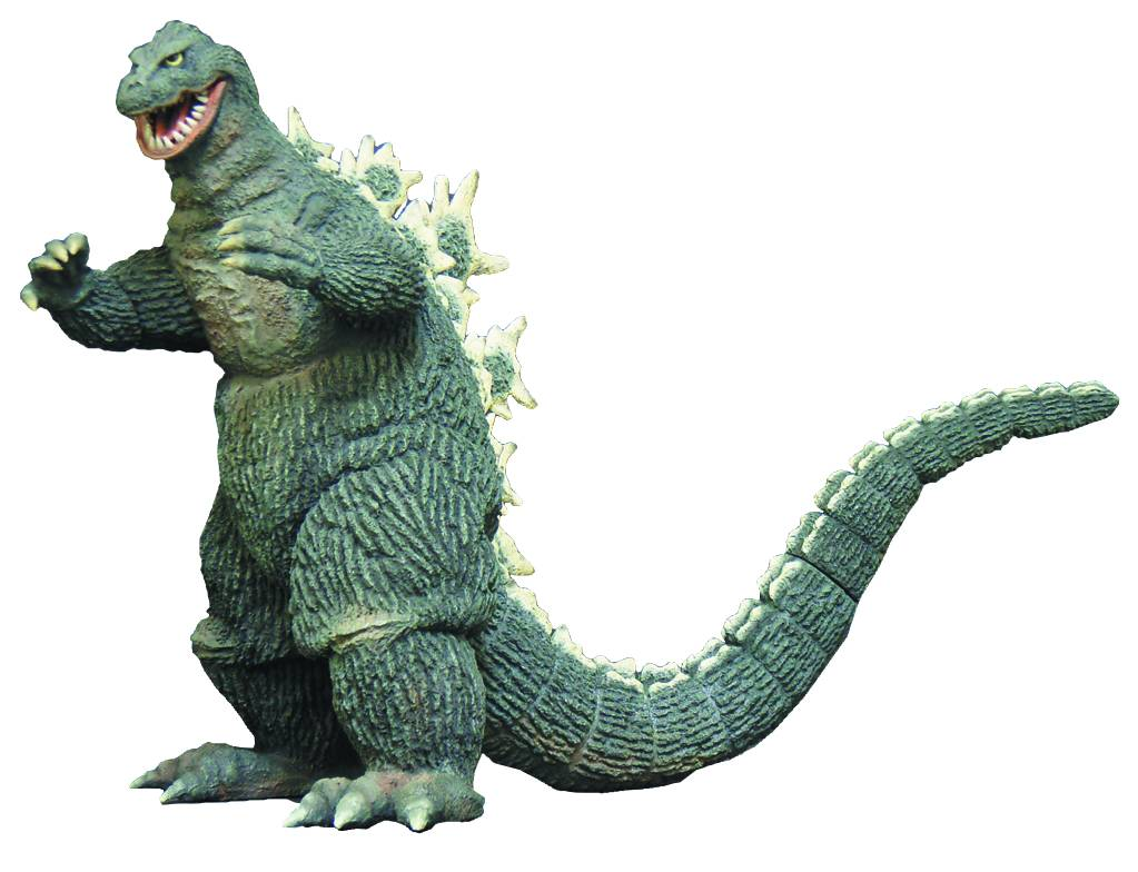Classic Godzilla collectibles are available for pre-order In May Previews