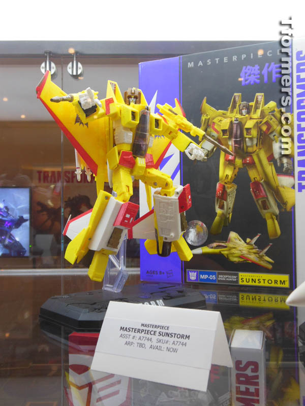 Hasbro Transformers Masterpieces on Display