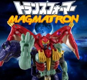 Magmatron 19 Title