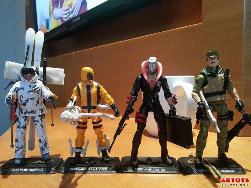 In-Hand G.I. Joe 50th Anniversary Figure Images!!