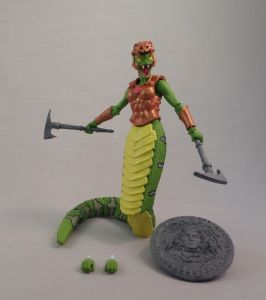 Green Gorgon Painted 01