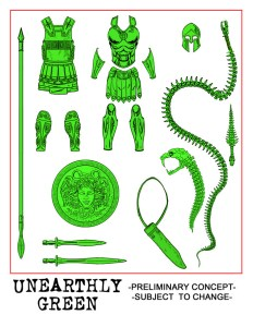 Stretch 345000 Unearthly Green Acc Pack