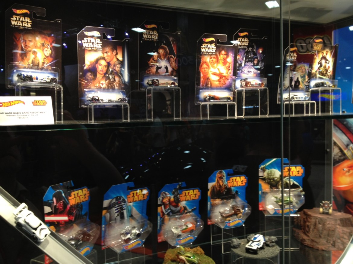 SDCC 2014: Mattel Star Wars Hot Wheels!!