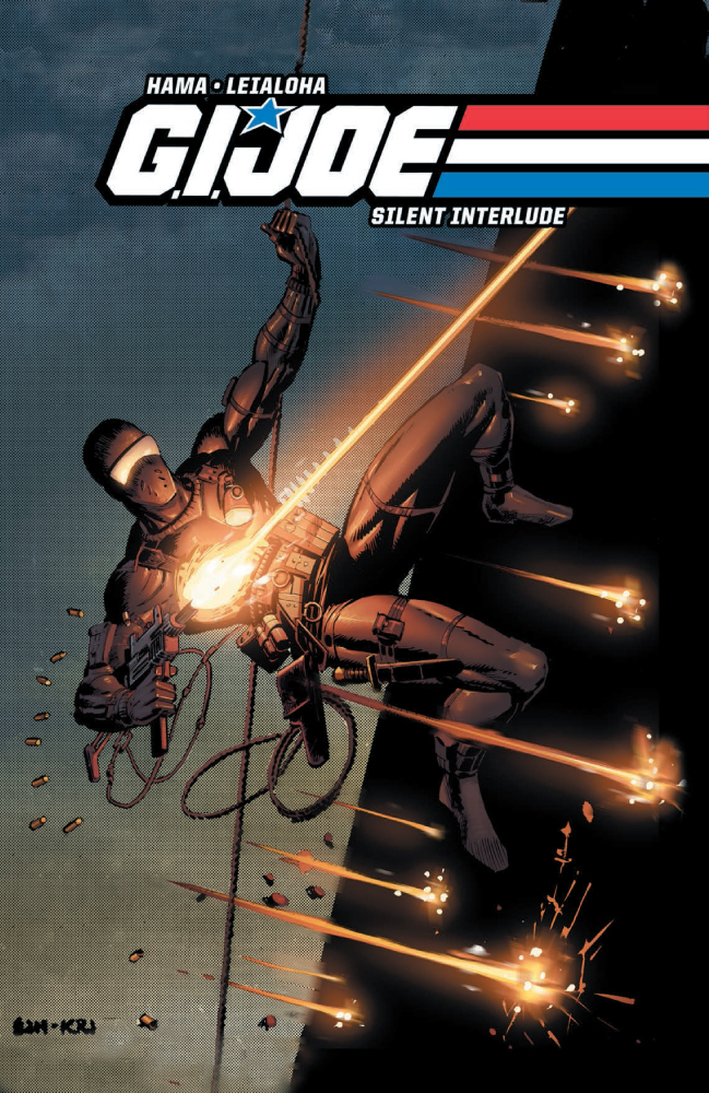 G.I. Joe Silent Interlude 30th Anniversary Hard Cover Preview From IDW