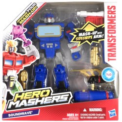 Transformers Mashers Soundwave 01 MIB