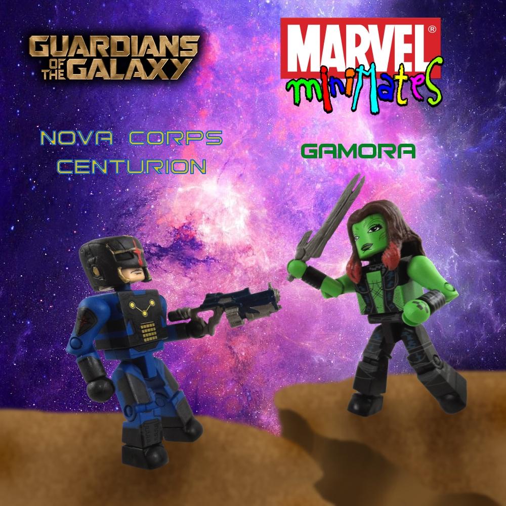 GotG Gamora & Nova Corps Centurion Minimate Review