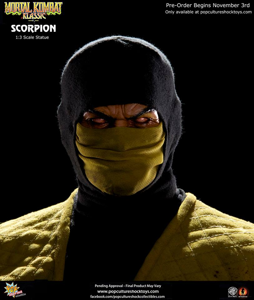 Pop Culture Shock Collectibles Mortal Kombat 1:3 Scorpion