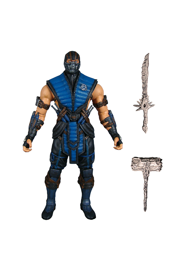 Mezco Presents Mortal Kombat X Sub Zero Scorpion And Raiden