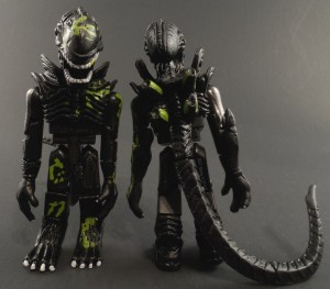 Aliens Minimates 13 Battle Damaged Alien