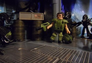 Aliens Minimates 33 Action