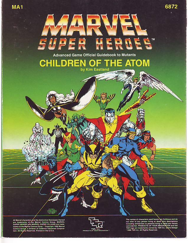 Looking Back: Marvel Super-Heroes RPG