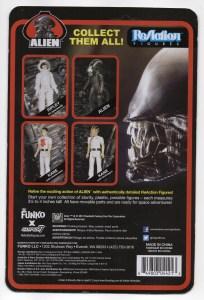 Metallic Alien 14 Cardback