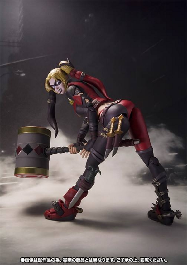 S.H. Figuarts Injustice Harley Quinn New Images!