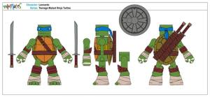 Teenage Mutant Ninja Turtles Minimates (1)