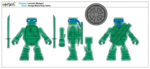 Teenage Mutant Ninja Turtles Minimates (12)