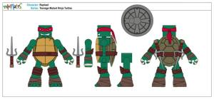 Teenage Mutant Ninja Turtles Minimates (2)