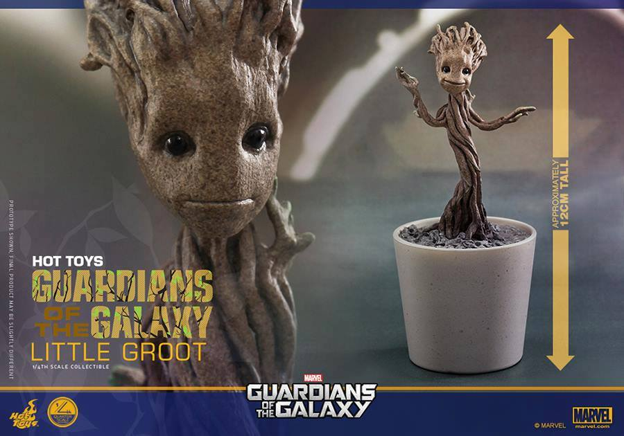 Guardians of the Galaxy: 1/4 Little Groot Collectible