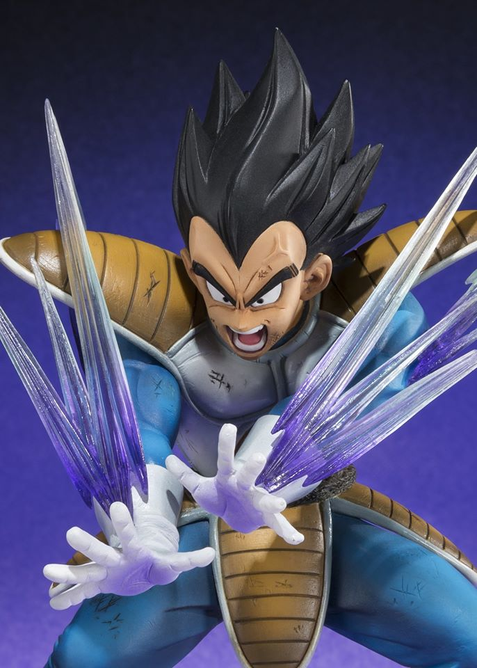 Bluefin Tamashii Nations FZero Vegeta Galick Gun