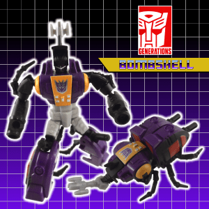 Transformers Generations Bombshell 09 Title