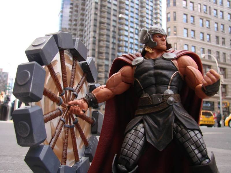 the mighty thor action figure up on shop marvel com needless
