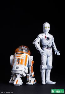 Star Wars R3-A2 & K-3PO ARTFX (4)