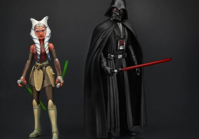 Darth Vader & Ahsoka Tano Star Wars Rebels Action Figures Revealed