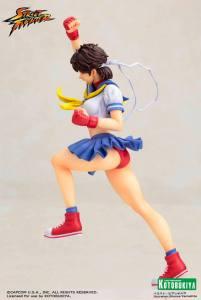 Street Fighter Sakura Bishoujo Statue (8)