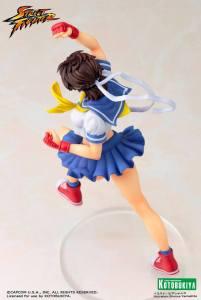 Street Fighter Sakura Bishoujo Statue (9)