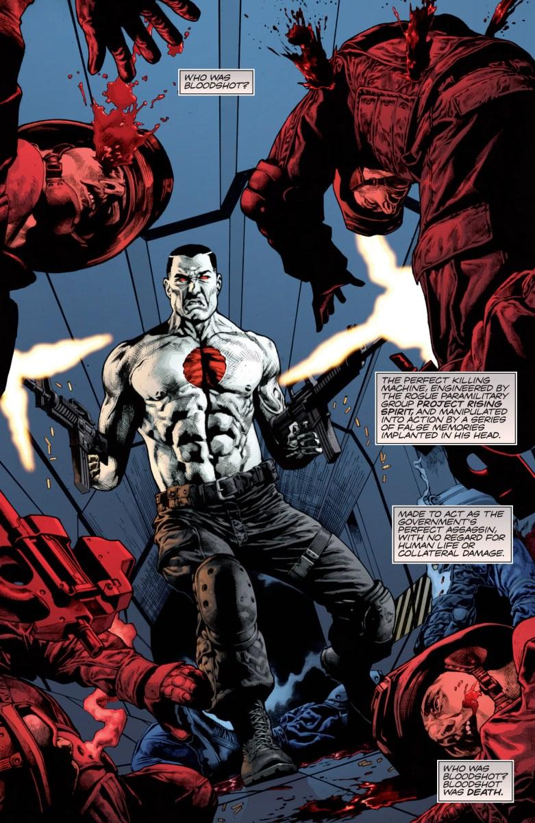 Review: Bloodshot Reborn #1 - Needless Essentials Online