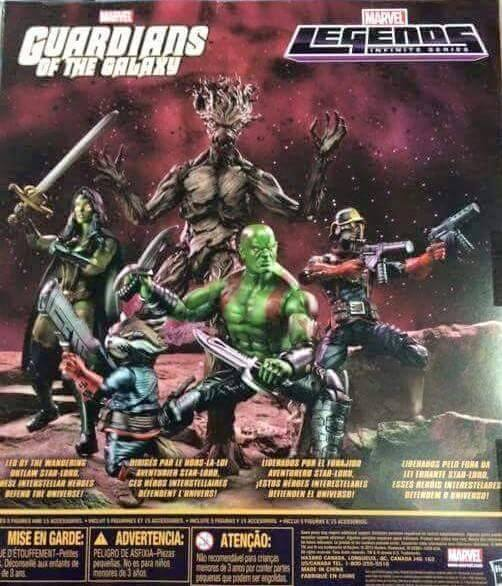Infinite Series Guardians of the Galaxy 5-pack